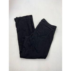 NYDJ Women's Barbara Boot Cut Jeans Black Size 14